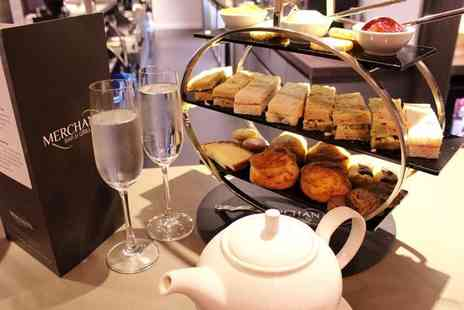 Samlesbury Hotel - Champagne afternoon tea for two - Save 39%