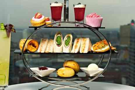 Hilton Manchester Deansgate - Afternoon tea & cocktails for 2 with Manchester views - Save 50%