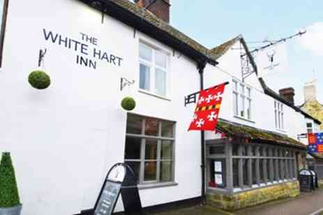The White Hart Inn - 16th century Cotswolds inn stay with meals - Save 0%