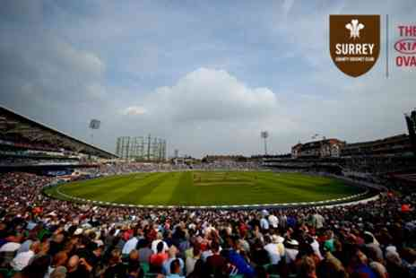 Kia Oval Cricket Ground - Kia Oval Stadium Tour for Up to Two - Save 20%