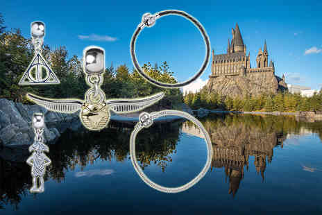 Aspire - Harry Potter charm or charm and bracelet - Save 58%