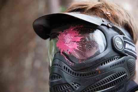 Bricketwood Paintball - Paintballing for Up to 20 People with 100 Balls Each - Save 90%