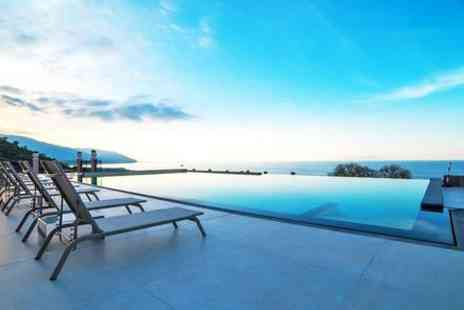 Hotel Terre di Eolo - Four Star Hillside Hotel Stay with Beautiful Sea Views - Save 88%