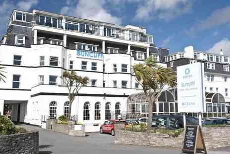 The Suncliff Hotel - One or two night Bournemouth stay for two with buffet dinner and breakfast - Save 54%