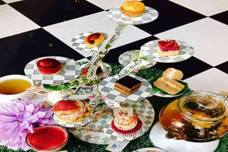 To A Tea - Mad Hatters Tea Party with Optional Glass or Bottomless Prosecco for Up to Four - Save 24%