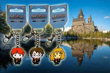 Aspire - Harry Potter keyring choose from Hermione, Ron or Harry - Save 53%