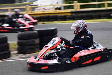 Knockhill Racing Circuit - 30 minute outdoor karting experience for two with unlimited laps - Save 56%