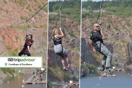 The National Diving & Activity Centre - Zip wire ride - Save 50%