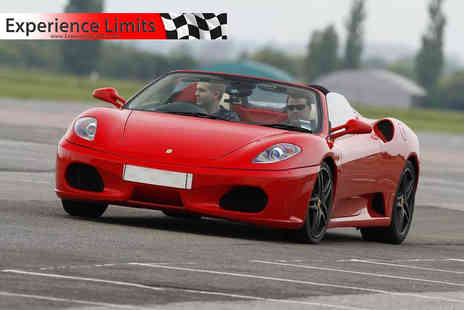 Experience Limits - Weekday three lap Ferrari driving experience or weekend - Save 74%