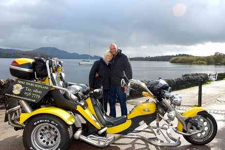 Trike Tours Scotland - Choice of 60 or 70 Minute Trike Tour with Photos and Refreshments for Two - Save 60%