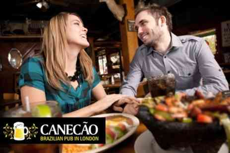Canecao - Picanha Steak and Cocktail - Save 60%