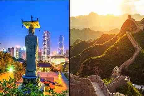 Great Pacific Travels - Seven nights Seoul and Beijing break with flights and Great Wall of China tour - Save 29%