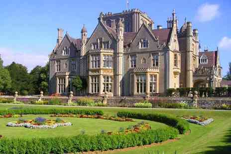 Tortworth Court Hotel - Overnight stay for two people with spa access and breakfast - Save 34%