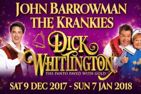 ATG Tickets - One ticket to Dick Whittington on 9 December To 7 January - Save 42%
