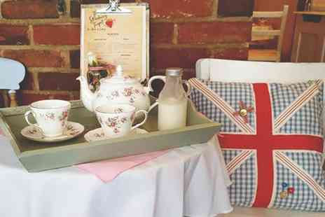 The Strawberry - Traditional or Prosecco Afternoon Tea for Two or Four - Save 48%