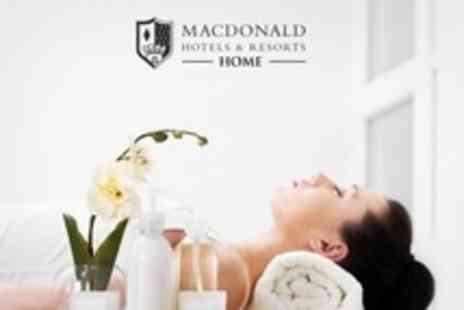 Macdonald Cardrona Hotel Golf and Spa - Spa Day For Two With Decleor Facial, Massage and Light Lunch - Save 63%