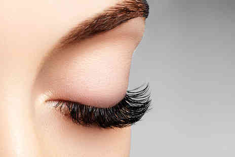 Eyakata - Semi permanent medium length eyelash extension treatment or ultra volume 5D Russian extensions or 5D extensions with a top up and infill session - Save 66%