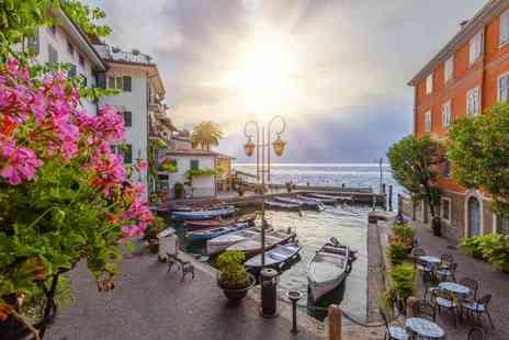 Refresh Holidays - Three or four night Lake Garda stay with breakfast, car hire and flights - Save 29%