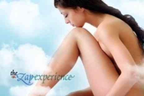 The Zap Experience - IPL Hair Removal: Six Sessions on One Small and One Medium Area - Save 88%