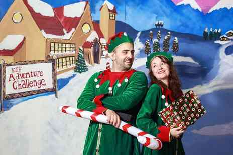 Elf Adventure Challenge - Single or family ticket to the Elf Adventure Challenge on 15th to 22nd December and save up to 33% - Save 33%