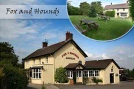The Fox and Hounds - In Wroughton Overnight Stay For Two With Breakfast - Save 52%