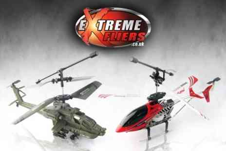 Extreme Fliers - Desert Apache or Metal Robocopter - Save 52%