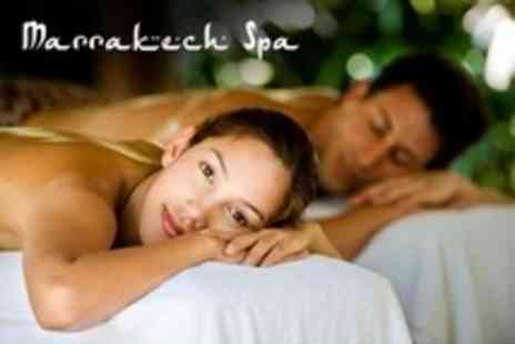 Marrakech Spa - Spa Experience For Two With Moroccan Mud Treatment, Exfoliation, Massage, and Use of Facilities - Save 64%
