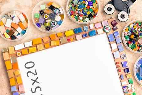 Go Create - 2.5 hour introduction to Mosaic class for one or two - Save 57%
