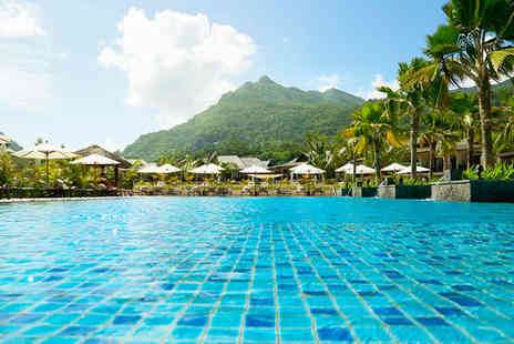 The H Resort Beau Vallon Beach - Five Star Idyllic Island Paradise with Optional Dubai Stopover - Save 49%