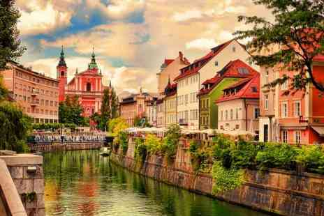 Great Pacific Travels - Two or three night, Ljubljana, Slovenia stay with breakfast, mulled wine, river cruise and flights - Save 40%