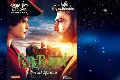 Selladoor Worldwide - Ticket to Peter Pan at Blackpool Opera House, see X Factors Jake Quickensen, TV star Jennifer Ellison, Radio Waves Breakfast Show host Scott Gallagher and Nolan sister Maureen Nolan - Save 67%