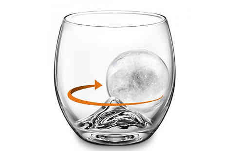 Fusion - Whiskey Glass & Ice Ball Set - Save 65%