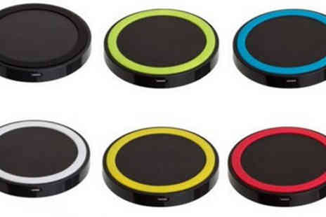 Best mall ever - Wireless iPhone & Android Charger Choose from Seven Colours - Save 74%