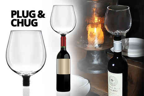 Internet Shop UK - Wine O Matic straight from the bottle glass - Save 60%