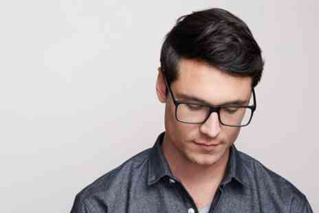 LMQ Hair and Beauty - Mens Wash, Cut and Finish with Optional Eyebrow Wax - Save 50%