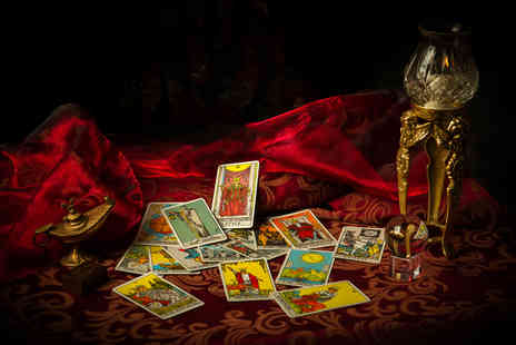 Healing and Mysticism - Three card tarot reading via email or via Skype or phone - Save 89%