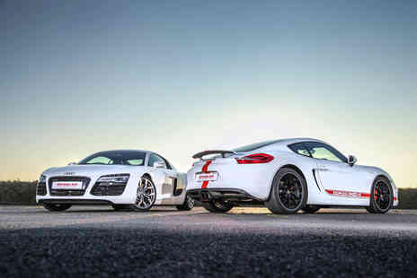 DriveMe - Four lap junior driving experience in one supercar with a 4x4 off road ride - Save 59%