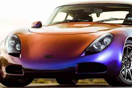 Drift Limits - 14 Lap TVR T350C Experience for One or Two - Save 50%