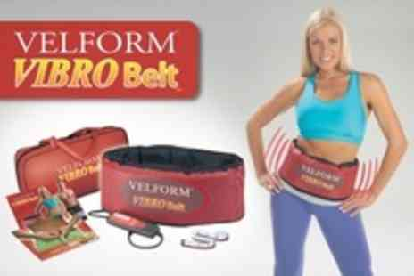 ISLShop - Two Vibroaction Ab Belts - Save 77%