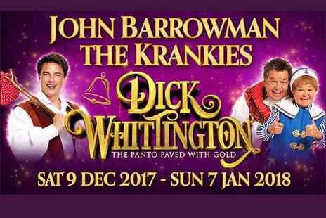 ATG Tickets - Ticket to see Dick Whittington, see stars John Barrowman and The Krankies - Save 38%