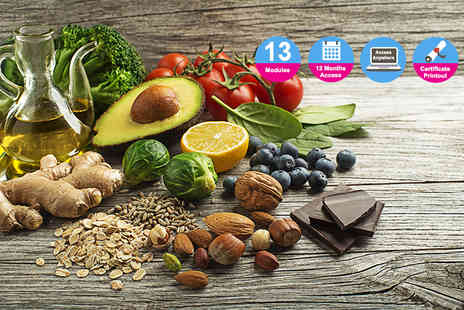 Blue Mountain - Diet and nutrition advisor online course - Save 91%