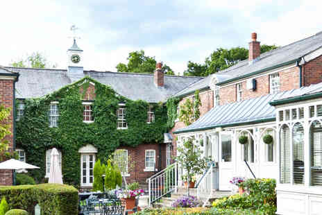 Etrop Grange Hotel - One night stay, three course dinner and breakfast for two - Save 44%