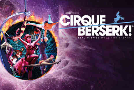 ATG Tickets - Band A ticket to see Cirque Berserk - Save 50%