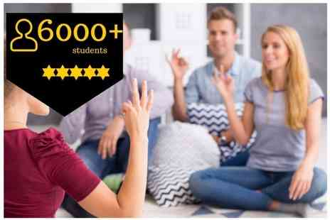 OfCourse - Online British sign language course levels One And Two - Save 81%