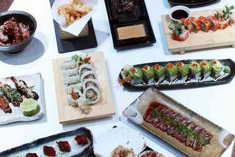Inamo - Eight course interactive dining experience for two people including a glass of fizz each - Save 34%