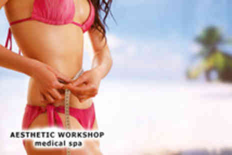 Aesthetic Workshop - Three 30 minute ultrasonic liposuction treatments - Save 91%