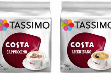 Eurovista2010 - 48 Tassimo Costa Coffee T Discs Variety Pack Options - Save 57%