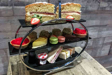 Novotel Leeds - Classic afternoon tea for two people at the Soap Factory Cocktail Lounge & Kitchen - Save 41%