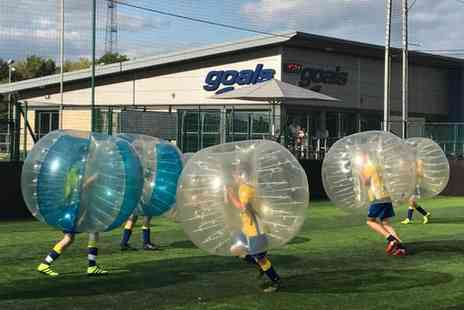 Zorb Football UK - 60 Minute Zorb Football Session with Optional 30 Minutes of Tag Archery for 15 - Save 0%