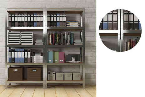 Home Empire - Five tier heavy duty fortified shelving - Save 87%